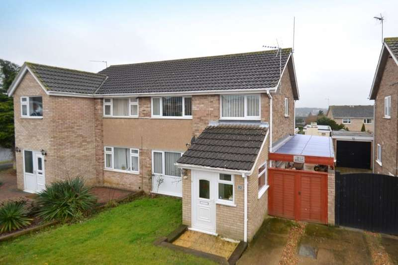 3 Bedrooms Semi Detached House for sale in St. Anthonys Road, Kettering, NN15