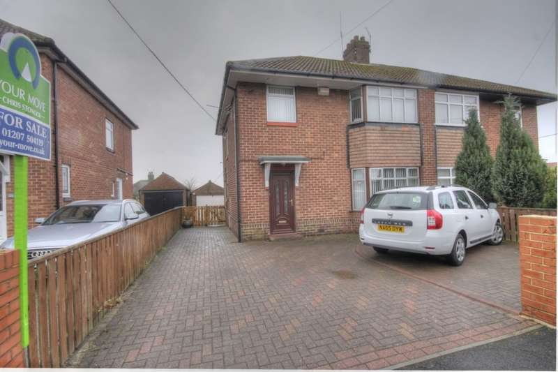 3 Bedrooms Semi Detached House for sale in Alston Terrace, Bridgehill, Consett, DH8