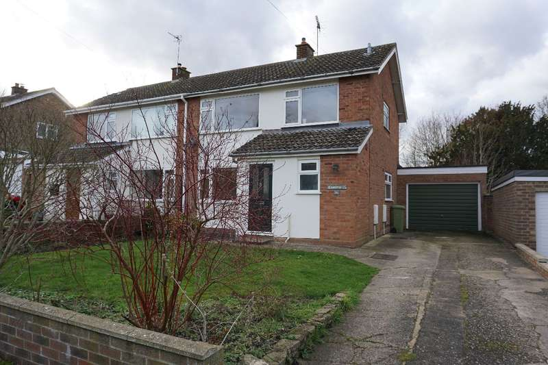 3 Bedrooms Semi Detached House for sale in GRAVEL WALK, EMBERTON