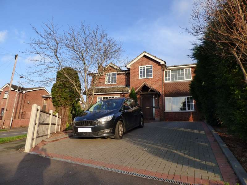 4 Bedrooms Detached House for sale in Rumsey Close, Thringstone LE67