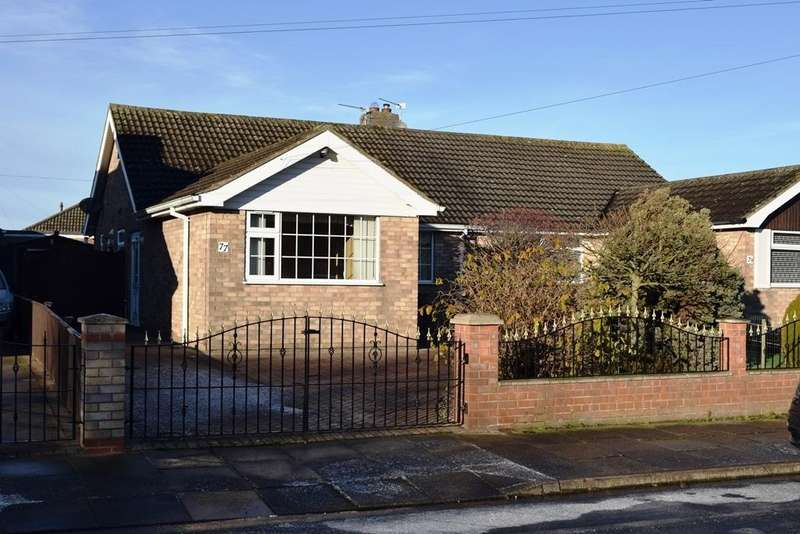 3 Bedrooms Semi Detached Bungalow for sale in Highthorpe Crescent, Cleethorpes