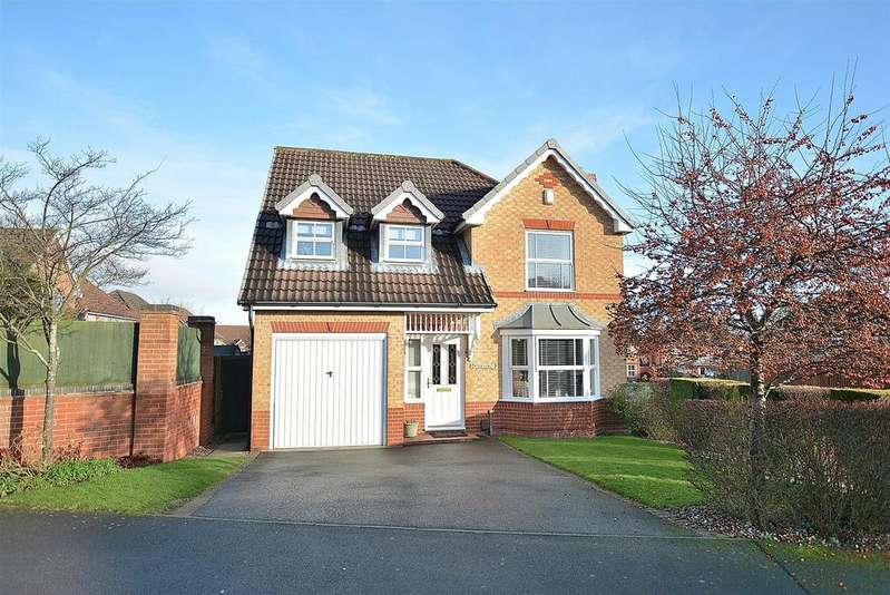 4 Bedrooms Detached House for sale in Chestnut Gardens, Sutton-In-Ashfield