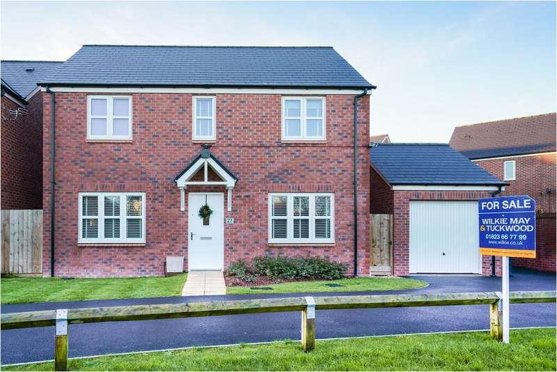 4 Bedrooms Detached House for sale in Aspin Close, Wellington TA21