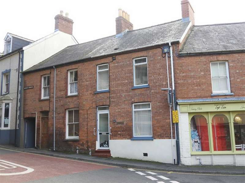 2 Bedrooms Terraced House for sale in Queens Terrace, Cardigan
