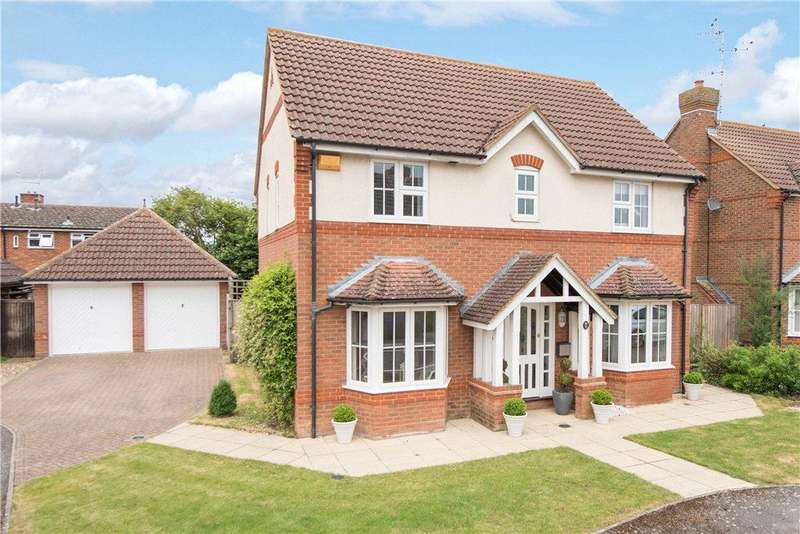 4 Bedrooms Detached House for sale in Church Farm Close, Bierton, Aylesbury, Buckinghamshire