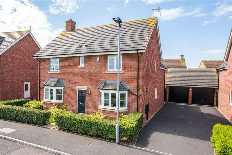 4 Bedrooms Detached House for sale in Crispin Drive, Bedford, Bedfordshire