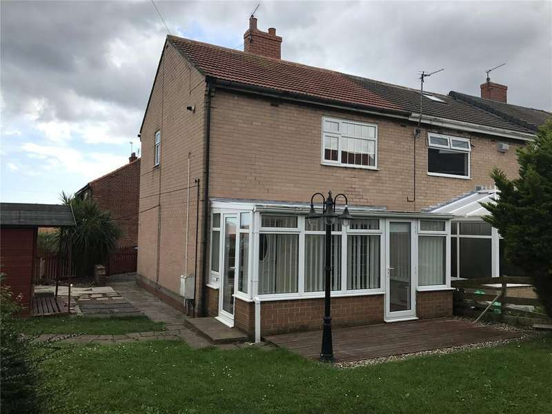 2 Bedrooms Semi Detached House for sale in St Ives Place, Murton, Seaham, Co Durham, SR7