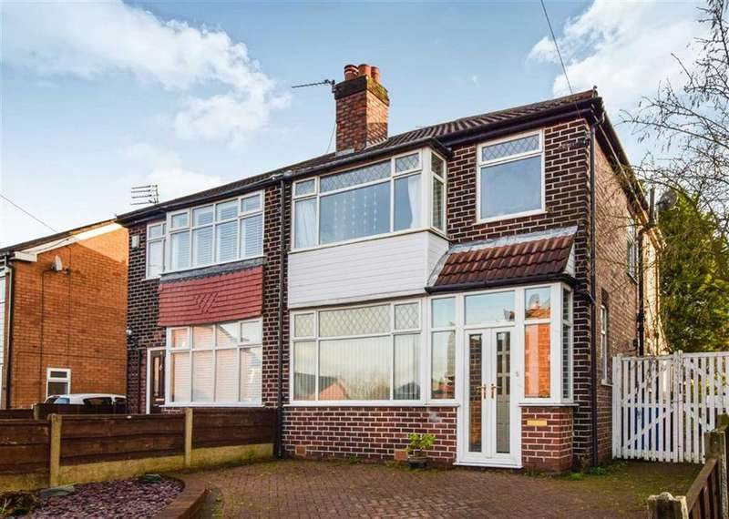 3 Bedrooms Semi Detached House for sale in Buck Lane, Sale, M33