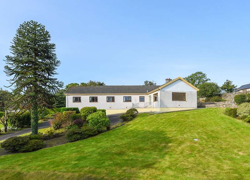 5 Bedrooms Detached Bungalow for sale in Stables End, Leswalt, Stranraer, Dumfries and Galloway, DG9