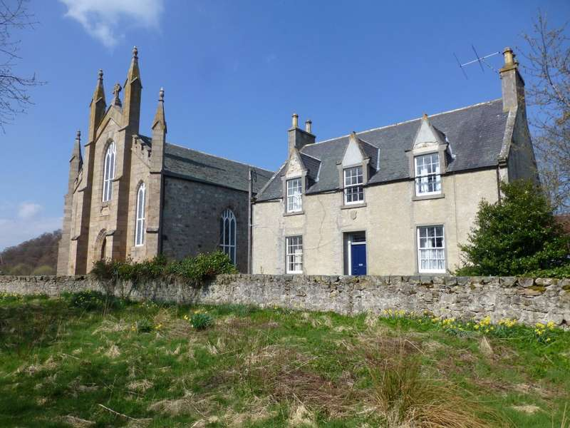 4 Bedrooms Detached House for sale in Tombae Chapel House and Church, Tombae, Tomnavoulin, Ballindalloch, Moray, AB37