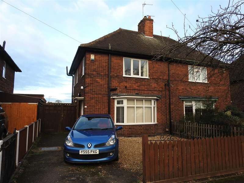 3 Bedrooms Semi Detached House for sale in Long Hill Rise, Hucknall, Nottingham