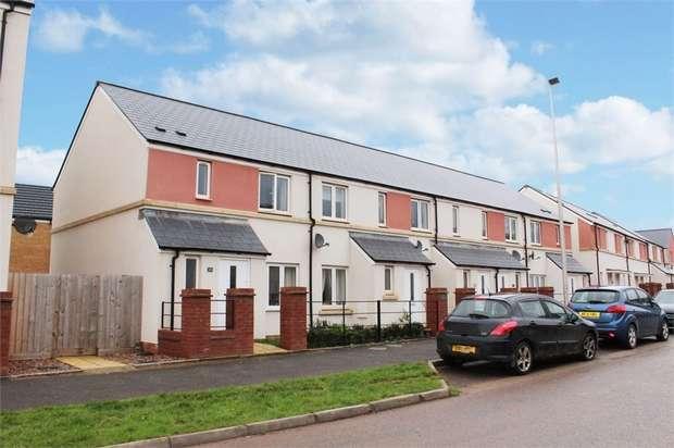 3 Bedrooms End Of Terrace House for sale in Tillhouse Road, Cranbrook, Exeter, Devon