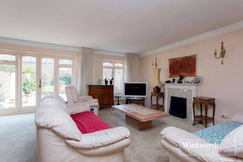 3 Bedrooms Semi Detached House for sale in Spring Place, Windermere Avenue, Finchley, London, N3