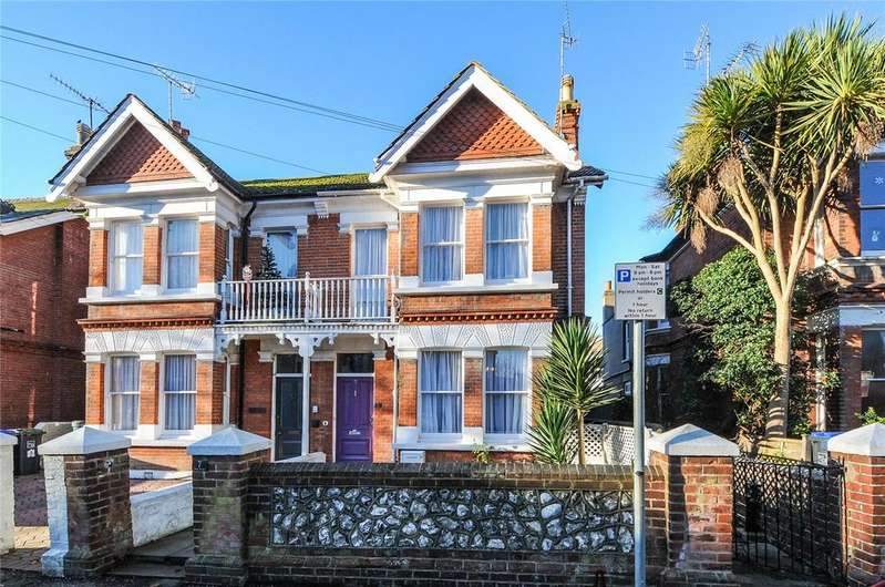 4 Bedrooms Semi Detached House for sale in Wyke Avenue, Worthing, West Sussex, BN11