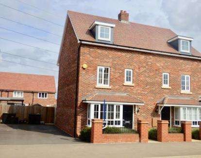 4 Bedrooms Semi Detached House for sale in Gold Furlong, Marston Moretaine, Bedford, Bedfordshire