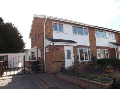 3 Bedrooms Semi Detached House for sale in All Saints Way, Sandy, Bedfordshire
