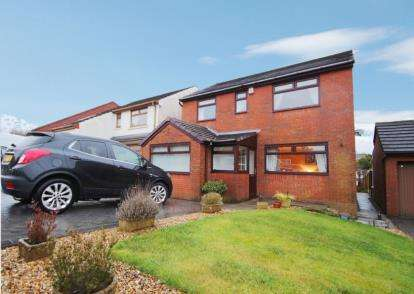 4 Bedrooms Detached House for sale in Moorcroft, Lower Darwen, Darwen, Lancashire, BB3