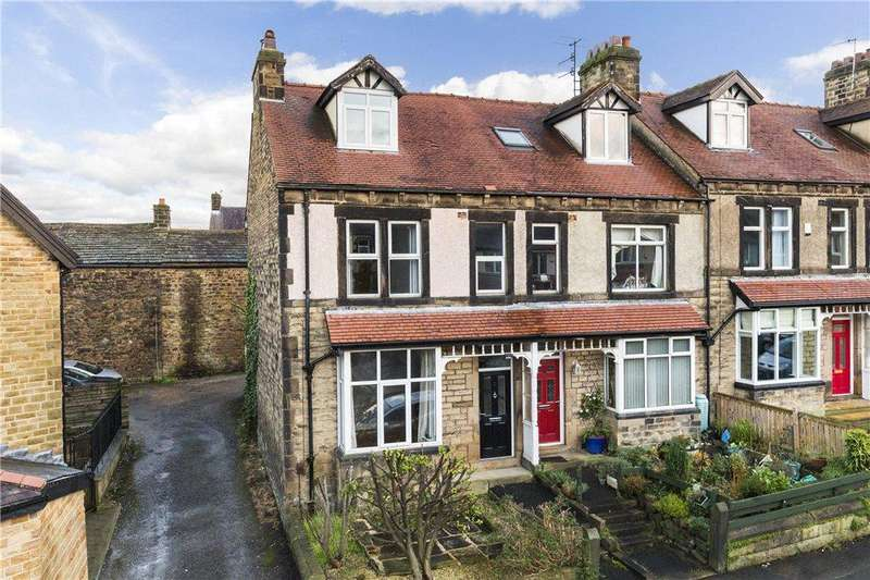 4 Bedrooms End Of Terrace House for sale in Victory Road, Ilkley, West Yorkshire