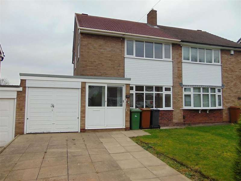 3 Bedrooms Semi Detached House for rent in Woodside Way, Aldridge