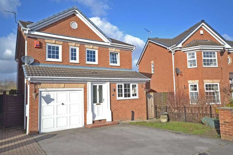 4 Bedrooms Detached House for sale in Virginia Court, Lofthouse, Wakefield