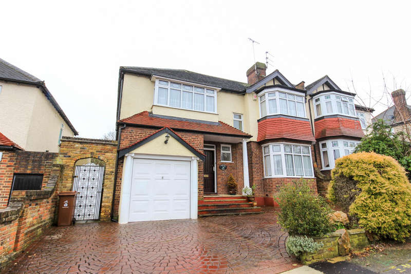 4 Bedrooms Semi Detached House for sale in Nesta Road, Woodford Green