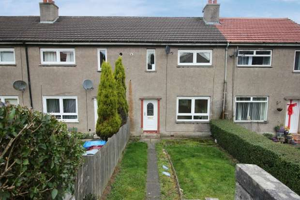 2 Bedrooms Terraced House for sale in Hillhead Crescent, Hamilton, Lanarkshire, ML3 9SA
