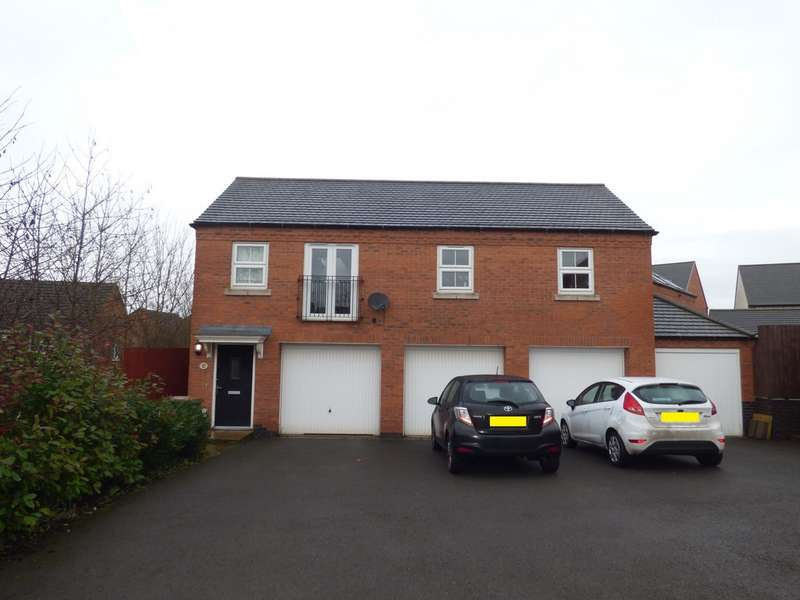 2 Bedrooms Apartment Flat for sale in Cornfield Close, Ellistown LE67