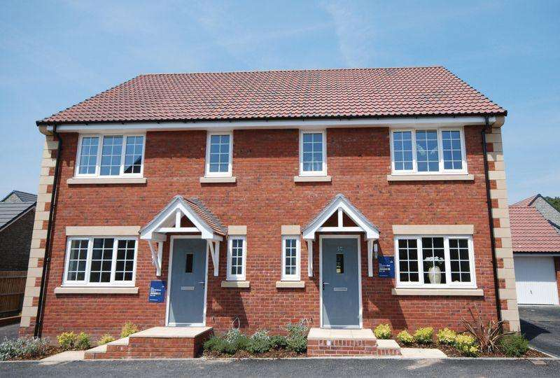 3 Bedrooms Semi Detached House for sale in Vicarage Fields, Wells