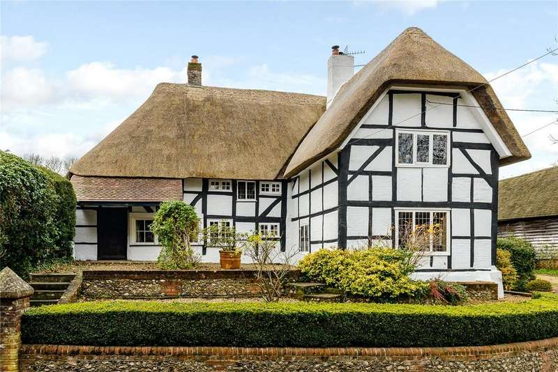4 Bedrooms Detached House for sale in Church Street, Micheldever, Winchester, Hampshire