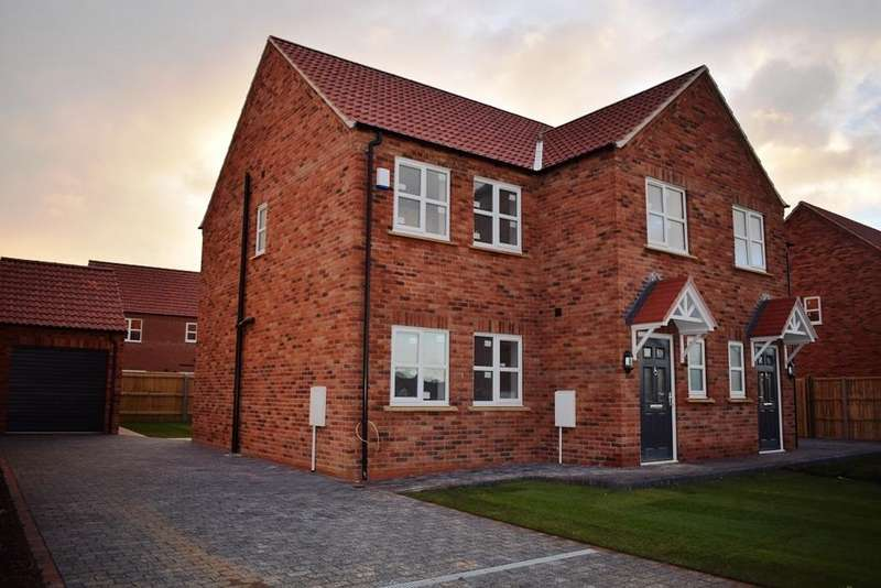 3 Bedrooms Semi Detached House for sale in The Magnolia, Plot 47, The Maples, Holton-le-Clay