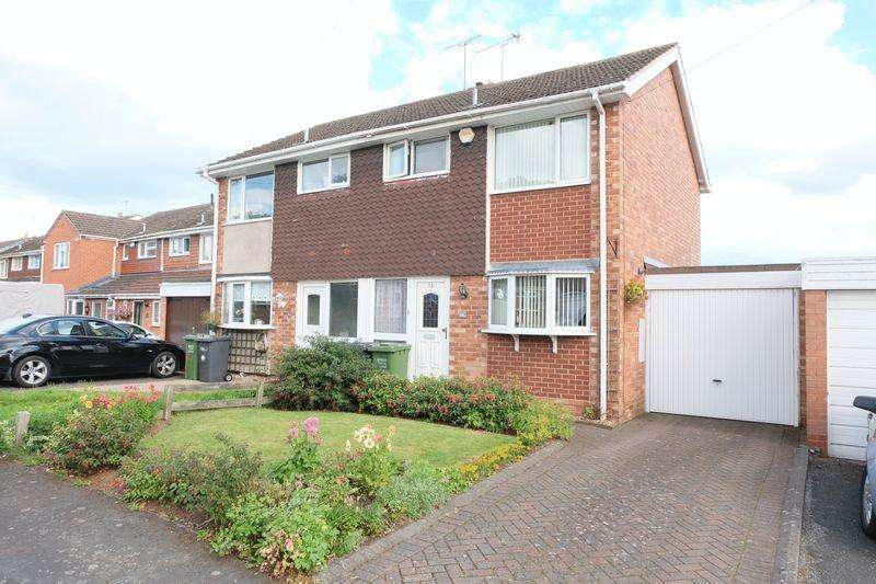 3 Bedrooms Semi Detached House for sale in Harvington Close, Kidderminster DY11 5LP