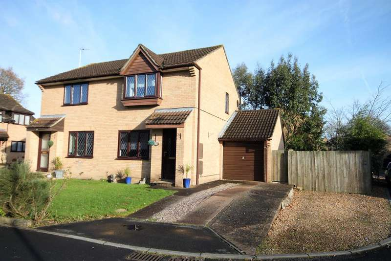 2 Bedrooms Semi Detached House for sale in Beech Close, Willand, Cullompton EX15