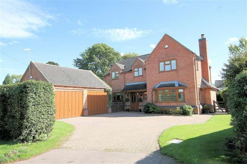 4 Bedrooms Detached House for sale in Manor View, Church Lane, Chilcote, Nr Tamworth, DE12 8DL