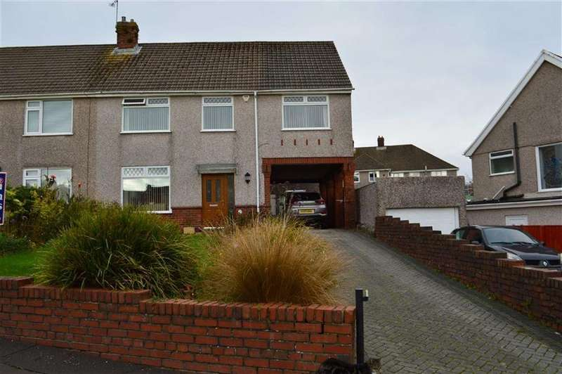 4 Bedrooms Semi Detached House for sale in Gabalfa Road, Swansea, SA2