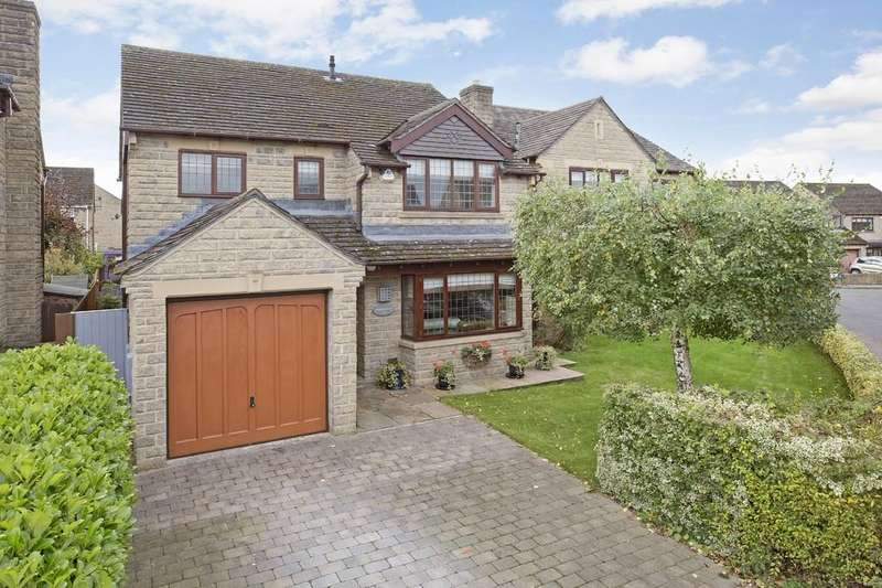 4 Bedrooms Detached House for sale in Far Mead Croft, Burley in Wharfedale