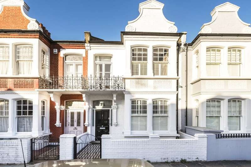 4 Bedrooms Terraced House for sale in Harbledown Road, Parsons Green, Fulham, London, SW6