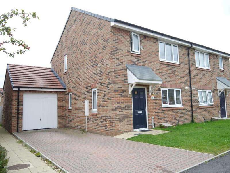 3 Bedrooms Semi Detached House for sale in Elder Drive, Calderstone, Newcastle Upon Tyne