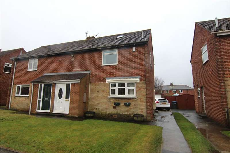 2 Bedrooms Semi Detached House for sale in Forster Avenue, Sherburn Village, Durham, DH6
