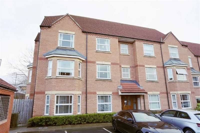 2 Bedrooms Apartment Flat for sale in Fenwick Close, Backworth, Newcastle Upon Tyne, NE27
