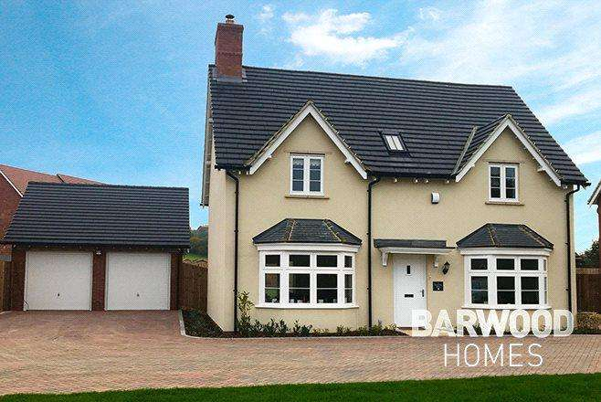 4 Bedrooms Detached House for sale in Millbrook Grange Development, Moulton, Northampton, Northamptonshire, NN3