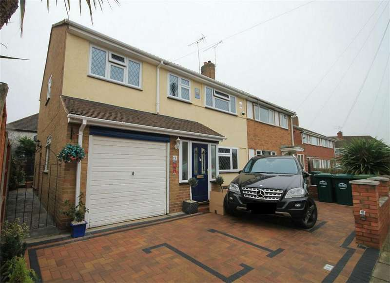 4 Bedrooms Semi Detached House for sale in Garden Close, Ashford, Surrey
