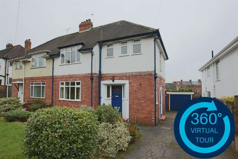 3 Bedrooms Semi Detached House for sale in Lower Kings Avenue, Lower Pennsylvania, Exeter