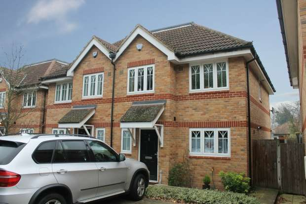 4 Bedrooms Semi Detached House for sale in Loncin Mead Avenue, Addlestone, Surrey, KT15 3NF