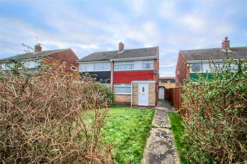 3 Bedrooms Semi Detached House for sale in Bothal Walk, Bishopsgarth
