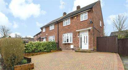 3 Bedrooms Semi Detached House for sale in Curtismill Way, Orpington