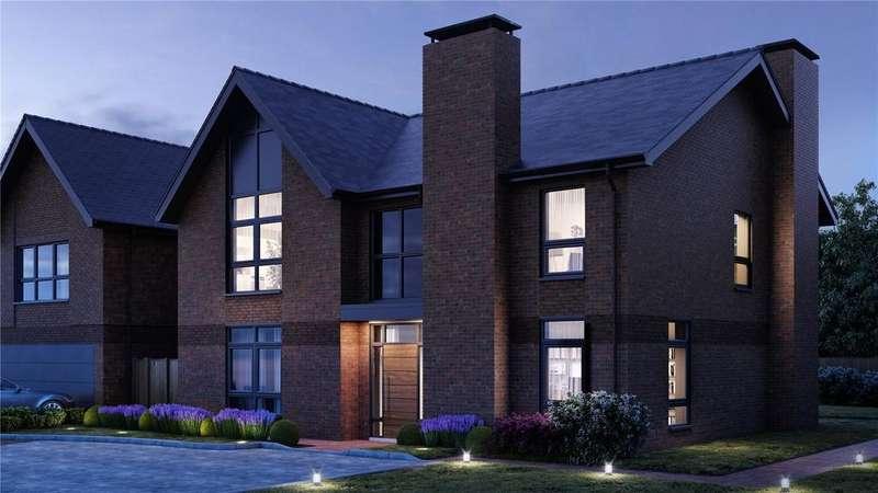 5 Bedrooms Detached House for sale in Tedbury At Upper Longcross, Chobham Lane, KT16