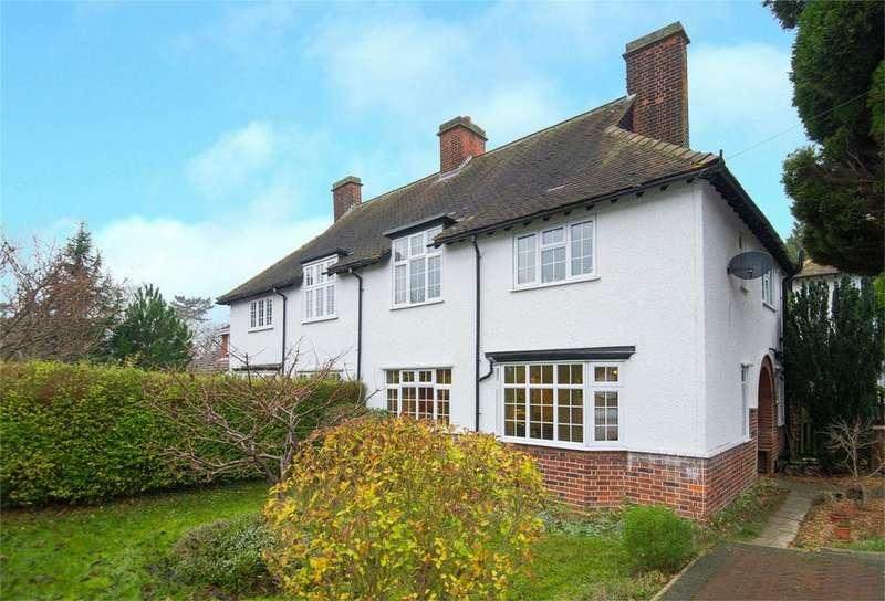 3 Bedrooms Semi Detached House for sale in Norton Road, Letchworth Garden City, Hertfordshire