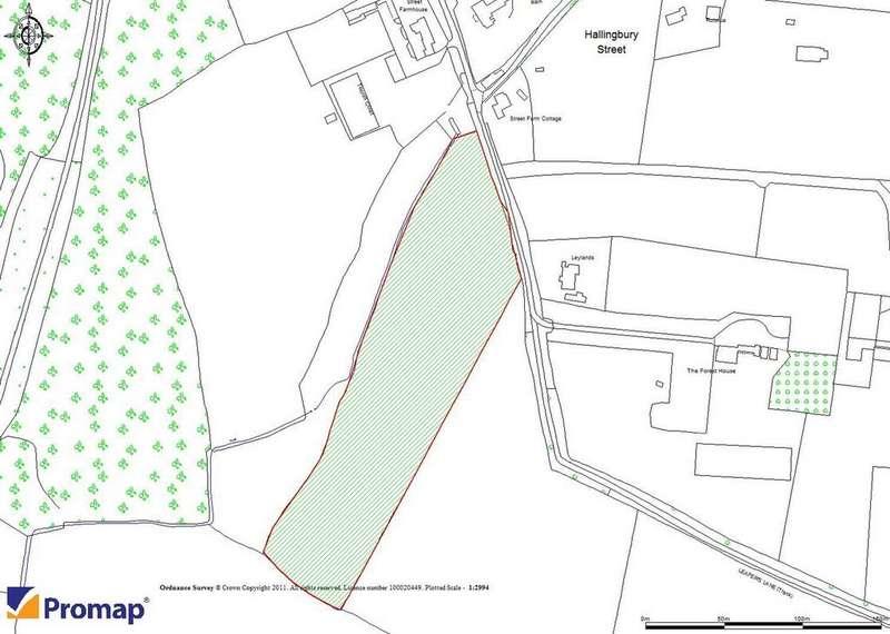 Land Commercial for sale in Land at Leapers Lane, Great Hallingbury, Bishops Stortford