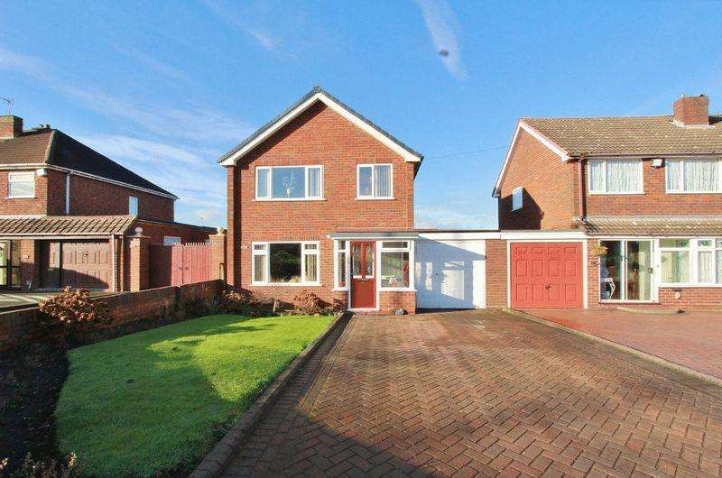 3 Bedrooms House for sale in Wolverhampton Road, Pelsall Walsall