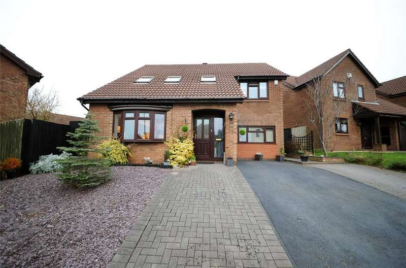 4 Bedrooms Detached House for sale in Heol Y Cadno, Thornhill, Cardiff, CF14